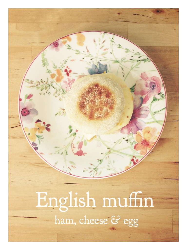 idée déjeuner muffin anglais