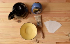 ruedelindustrie diy teindre table café outils